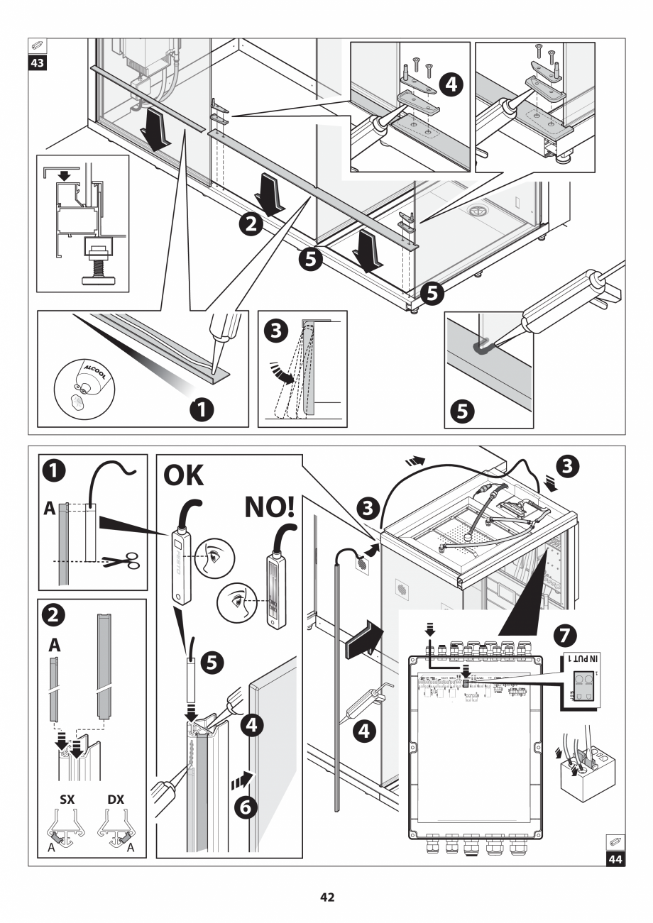 Pagina 42 - Manual de instalare pentru sauna JACUZZI SASHA MI Instructiuni montaj, utilizare Engleza...