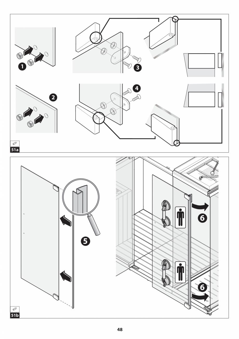 Pagina 48 - Manual de instalare pentru sauna JACUZZI SASHA MI Instructiuni montaj, utilizare Engleza...
