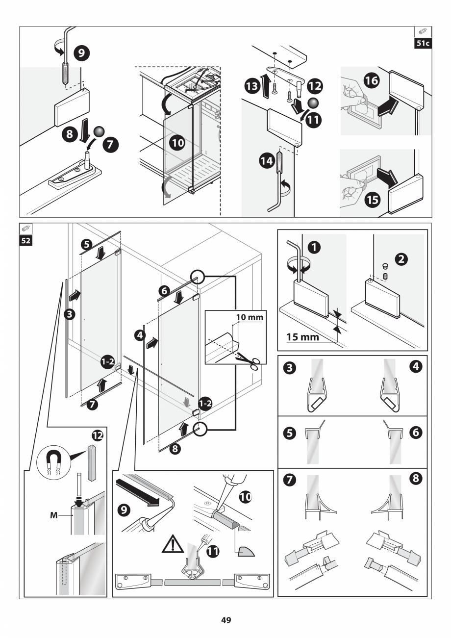 Pagina 49 - Manual de instalare pentru sauna JACUZZI SASHA MI Instructiuni montaj, utilizare Engleza...