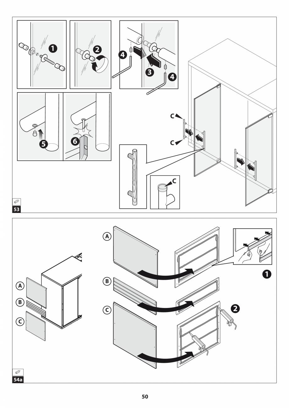 Pagina 50 - Manual de instalare pentru sauna JACUZZI SASHA MI Instructiuni montaj, utilizare Engleza...