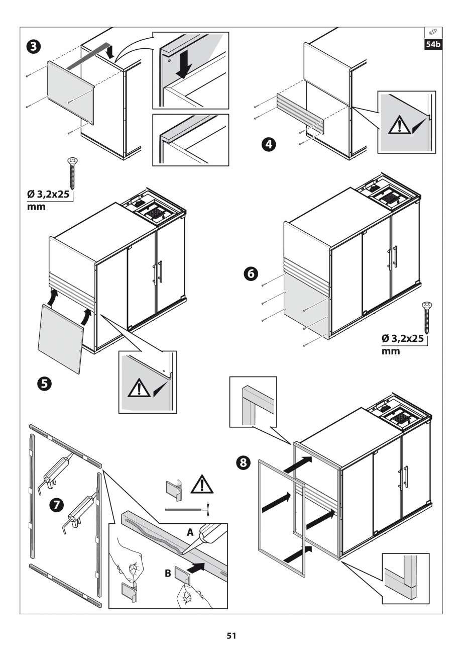 Pagina 51 - Manual de instalare pentru sauna JACUZZI SASHA MI Instructiuni montaj, utilizare Engleza...
