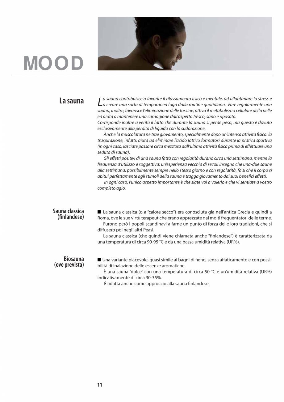 Pagina 11 - Manualul utilizatorului pentru sauna JACUZZI MOOD Instructiuni montaj, utilizare Engleza...