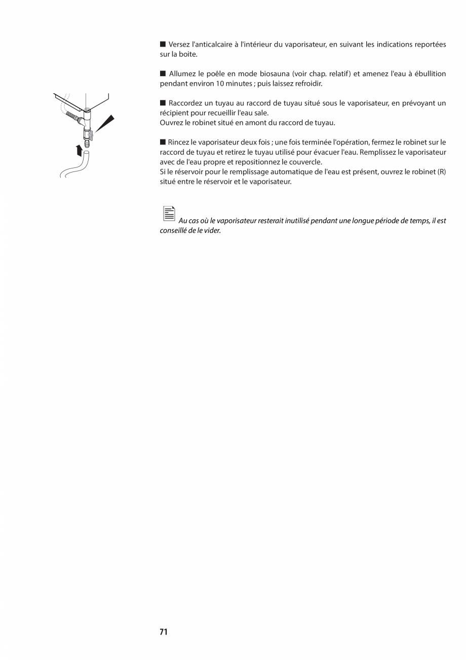 Pagina 71 - Manualul utilizatorului pentru sauna JACUZZI MOOD Instructiuni montaj, utilizare Engleza...