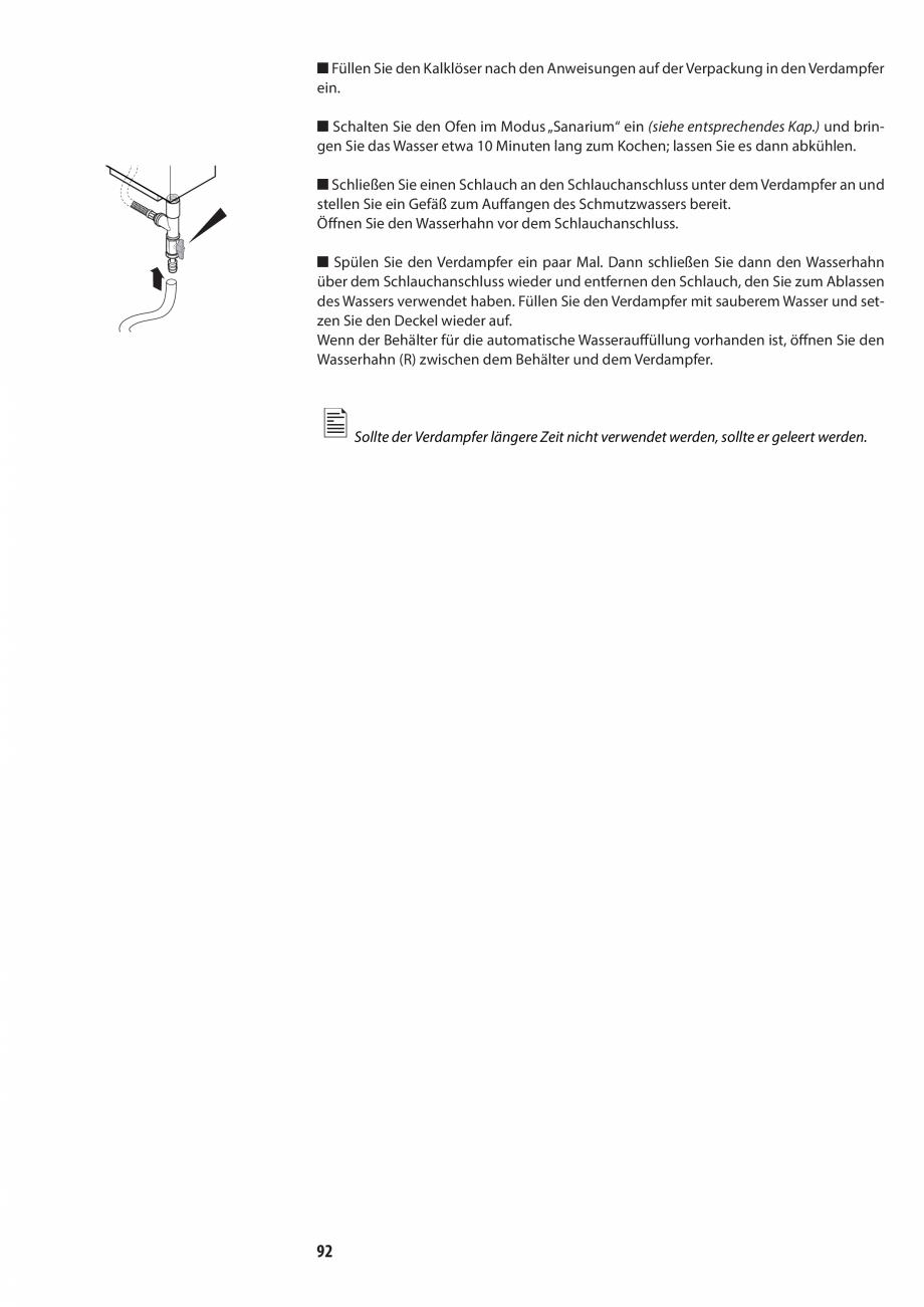 Pagina 92 - Manualul utilizatorului pentru sauna JACUZZI MOOD Instructiuni montaj, utilizare Engleza...