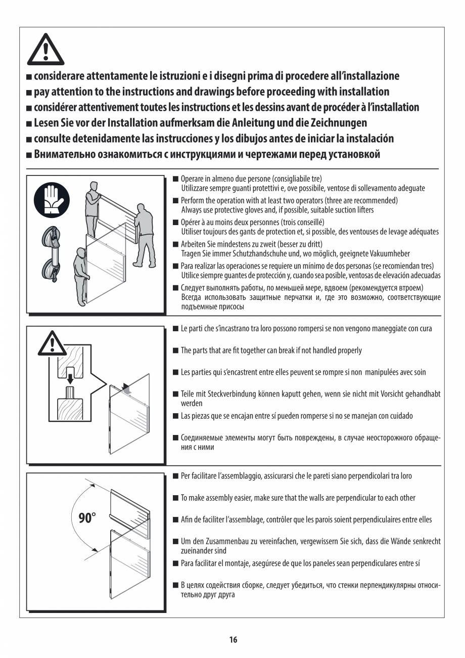 Pagina 16 - Manual de instalare pentru sauna JACUZZI MOOD Instructiuni montaj, utilizare Engleza,...