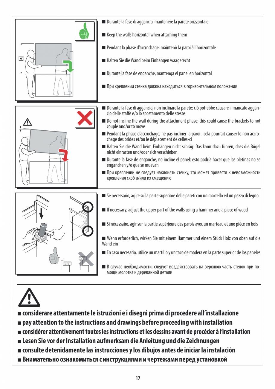 Pagina 17 - Manual de instalare pentru sauna JACUZZI MOOD Instructiuni montaj, utilizare Engleza,...