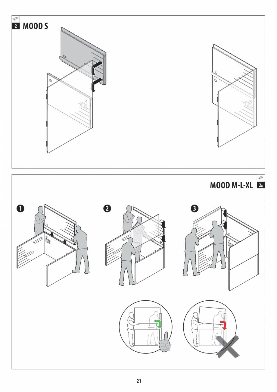Pagina 21 - Manual de instalare pentru sauna JACUZZI MOOD Instructiuni montaj, utilizare Engleza,...