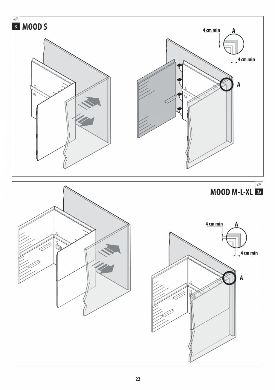 Pagina 22 - Manual de instalare pentru sauna JACUZZI MOOD Instructiuni montaj, utilizare Engleza,...