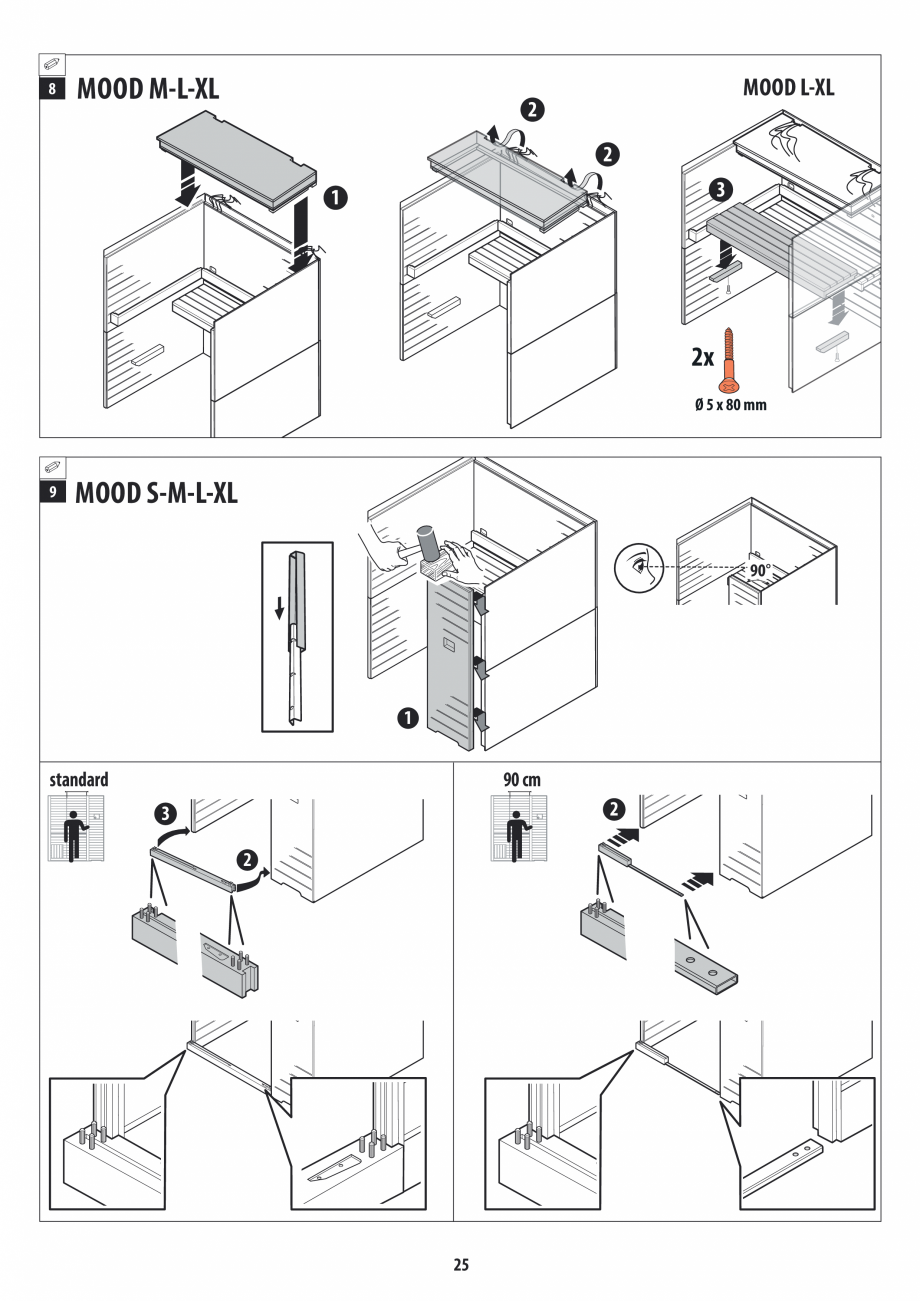 Pagina 25 - Manual de instalare pentru sauna JACUZZI MOOD Instructiuni montaj, utilizare Engleza,...