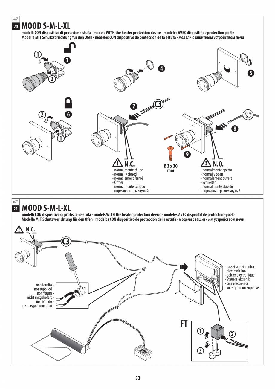 Pagina 32 - Manual de instalare pentru sauna JACUZZI MOOD Instructiuni montaj, utilizare Engleza,...