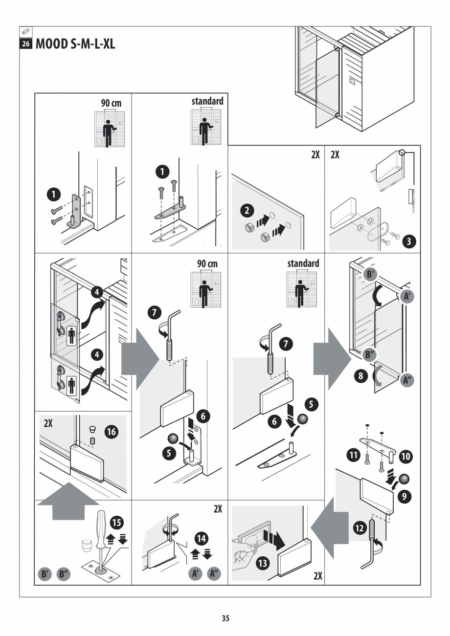 Pagina 35 - Manual de instalare pentru sauna JACUZZI MOOD Instructiuni montaj, utilizare Engleza,...