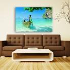 Tablou canvas 0154 - Tablouri Canvas 0141 - Barci
