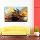 Tablou canvas 0206 - Tablouri Canvas 0141 - Barci