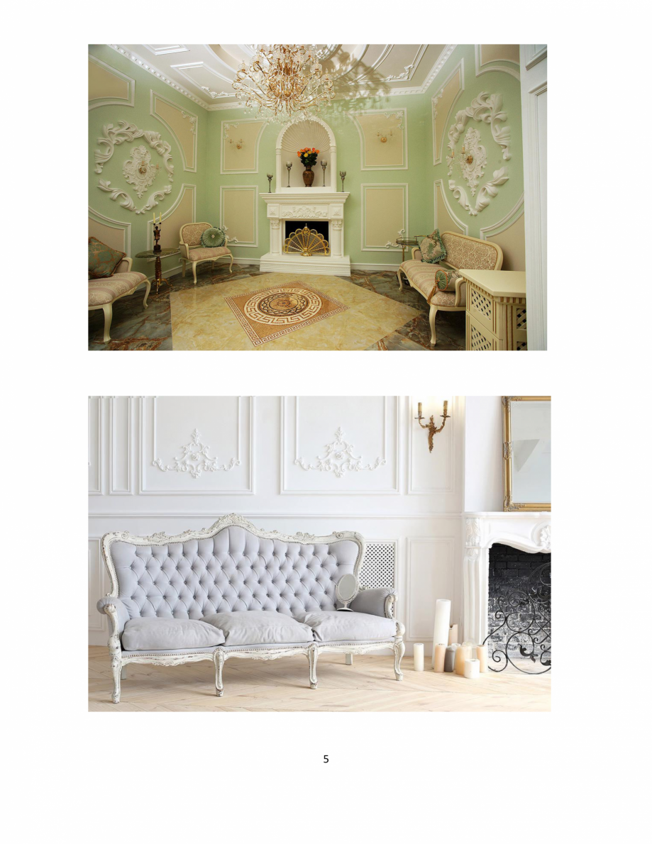 Pagina 5 - Proiecte realizate cu profile decorative din ipsos - Dekofyn DEKOFYN Catalog, brosura...