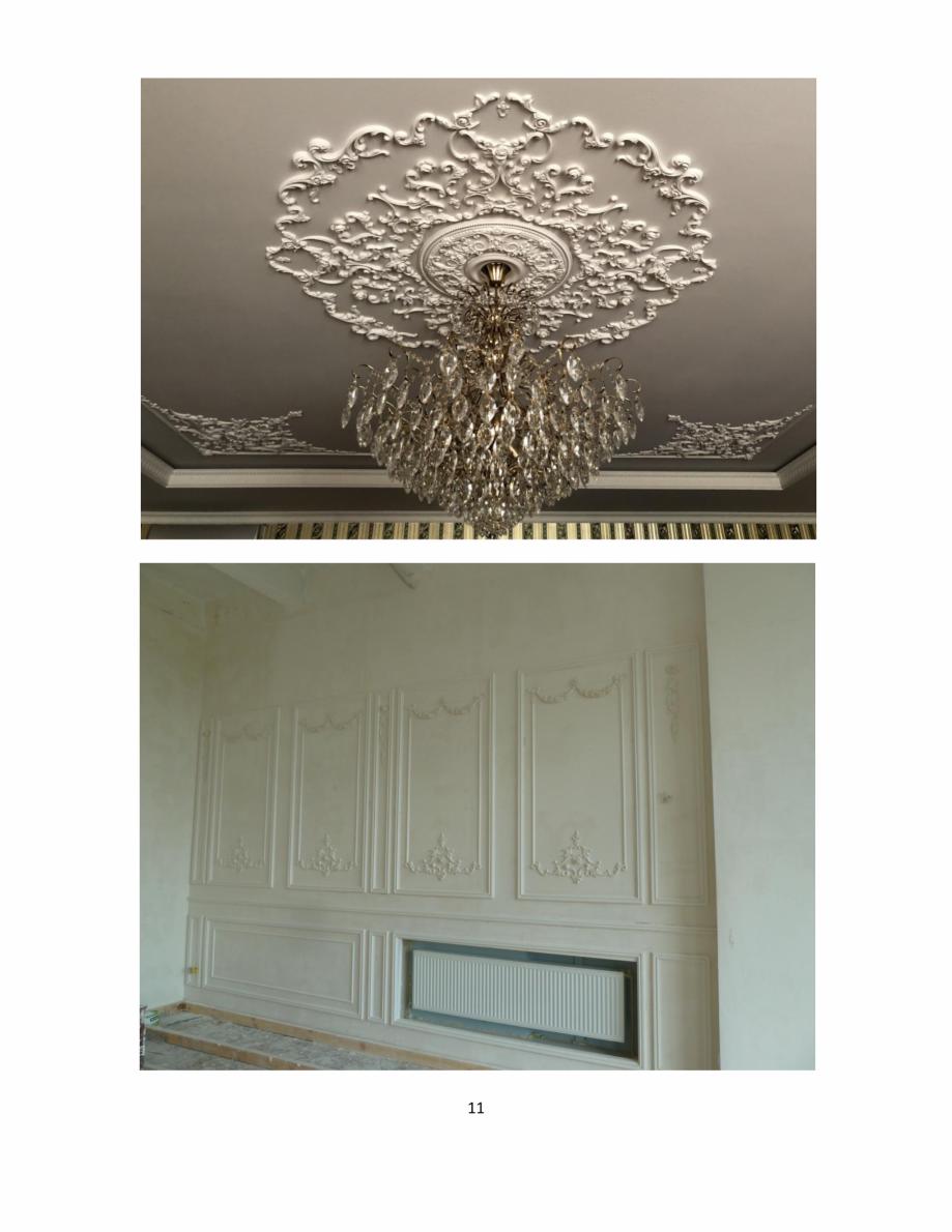 Pagina 11 - Proiecte realizate cu profile decorative din ipsos - Dekofyn DEKOFYN Catalog, brosura...