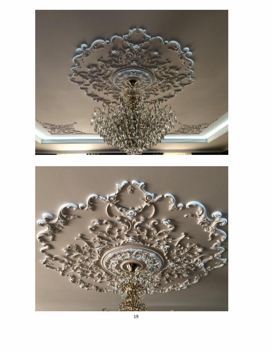 Pagina 19 - Proiecte realizate cu profile decorative din ipsos - Dekofyn DEKOFYN Catalog, brosura...