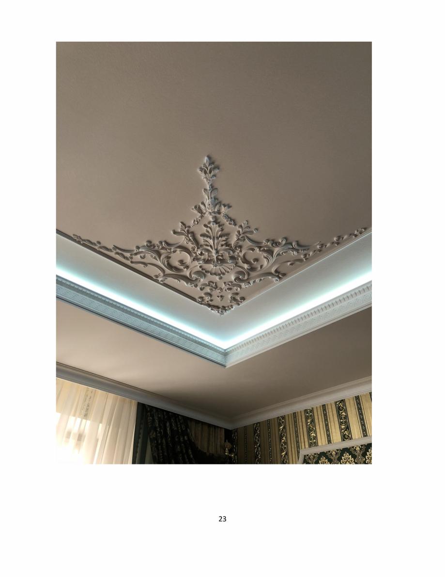 Pagina 23 - Proiecte realizate cu profile decorative din ipsos - Dekofyn DEKOFYN Catalog, brosura...