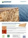 Șindrilă din lemn de cedru rosu pentru acoperis