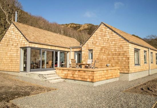 Șindrilă din lemn de cedru pentru acoperis si fatada GEOROOF