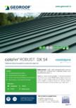 Tablă de oțel prevopsită cu protecție organică GEOROOF - COLOFER ROBUST DX 54