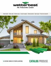 Catalog produse Wetterbest 2021