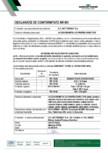 Declaratie de conformitate - Accesorii metalice pentru invelitori Wetterbest