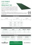 Tabla cutata Wetterbest - W8