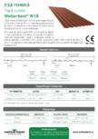 Tabla cutata Wetterbest - W18