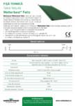Panouri din tabla faltuita pentru invelitori plane Wetterbest - Faltz