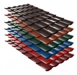 Tigla metalica pentru acoperis cu panta Wetterbest