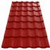 Tigla metalica  Wetterbest® Cardinal - RAL 3005 Tigla metalica - Wetterbest® Cardinal