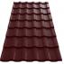 Tigla metalica  Wetterbest® Cardinal - RAL 3011 Tigla metalica - Wetterbest® Cardinal