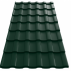 Tigla metalica  Wetterbest® Cardinal - RAL 6020 Tigla metalica - Wetterbest® Cardinal