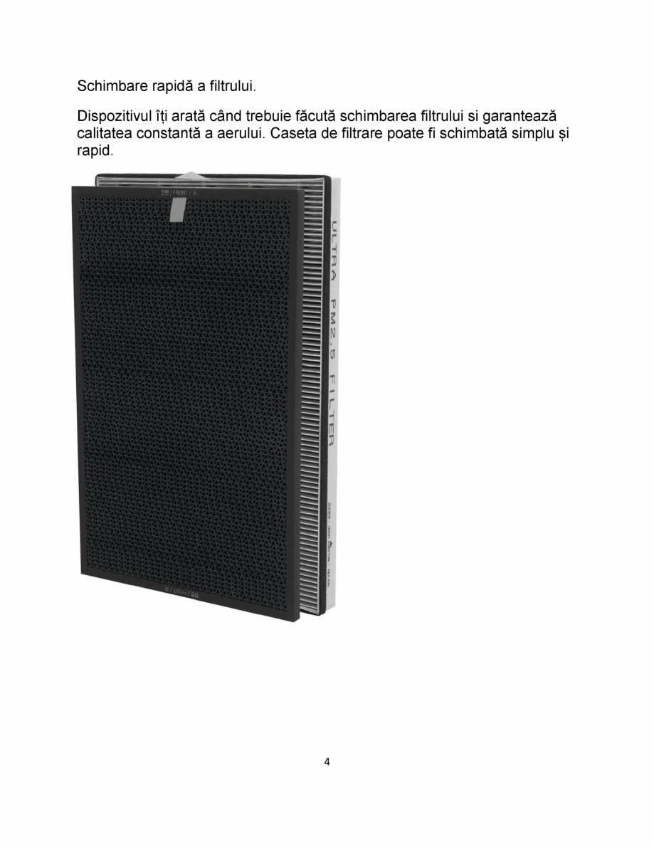 Pagina 4 - Purificator de aer cu sistem de filtrare in mai multe etape IDEAL AP35 Catalog, brosura...