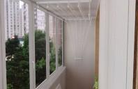 Uscatoare de rufe cu scripeti si fixare in tavan sau perete DRA-BO