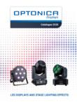 Proiectoare cu LED pentru iluminat de exterior OPTONICA LED