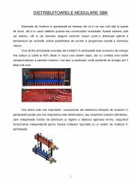 Prezentare distribuitoare modulare pentru incalzirea in pardoseala