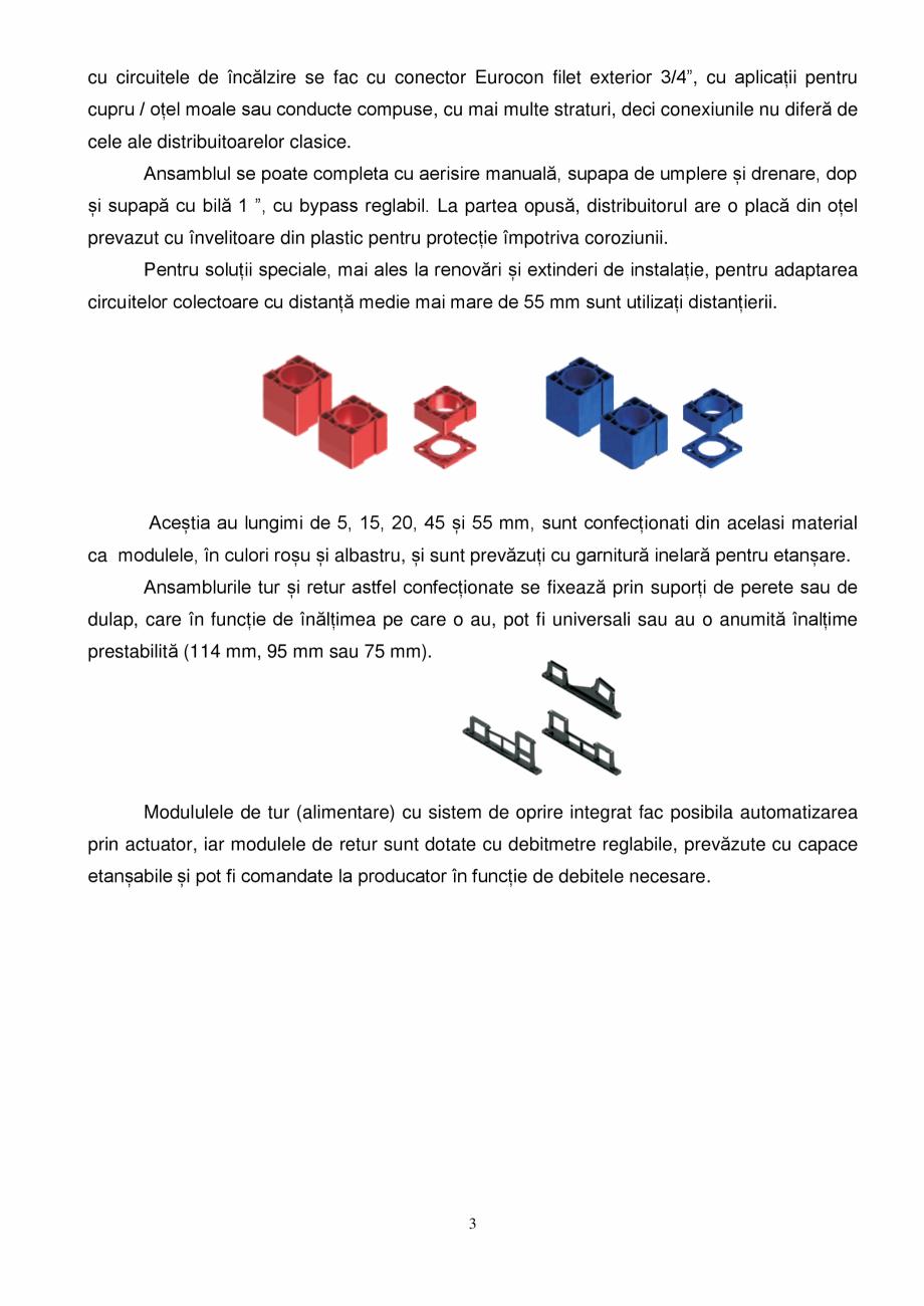 Pagina 3 - Prezentare distribuitoare modulare pentru incalzirea in pardoseala SBK HKV3000, TWINCO...