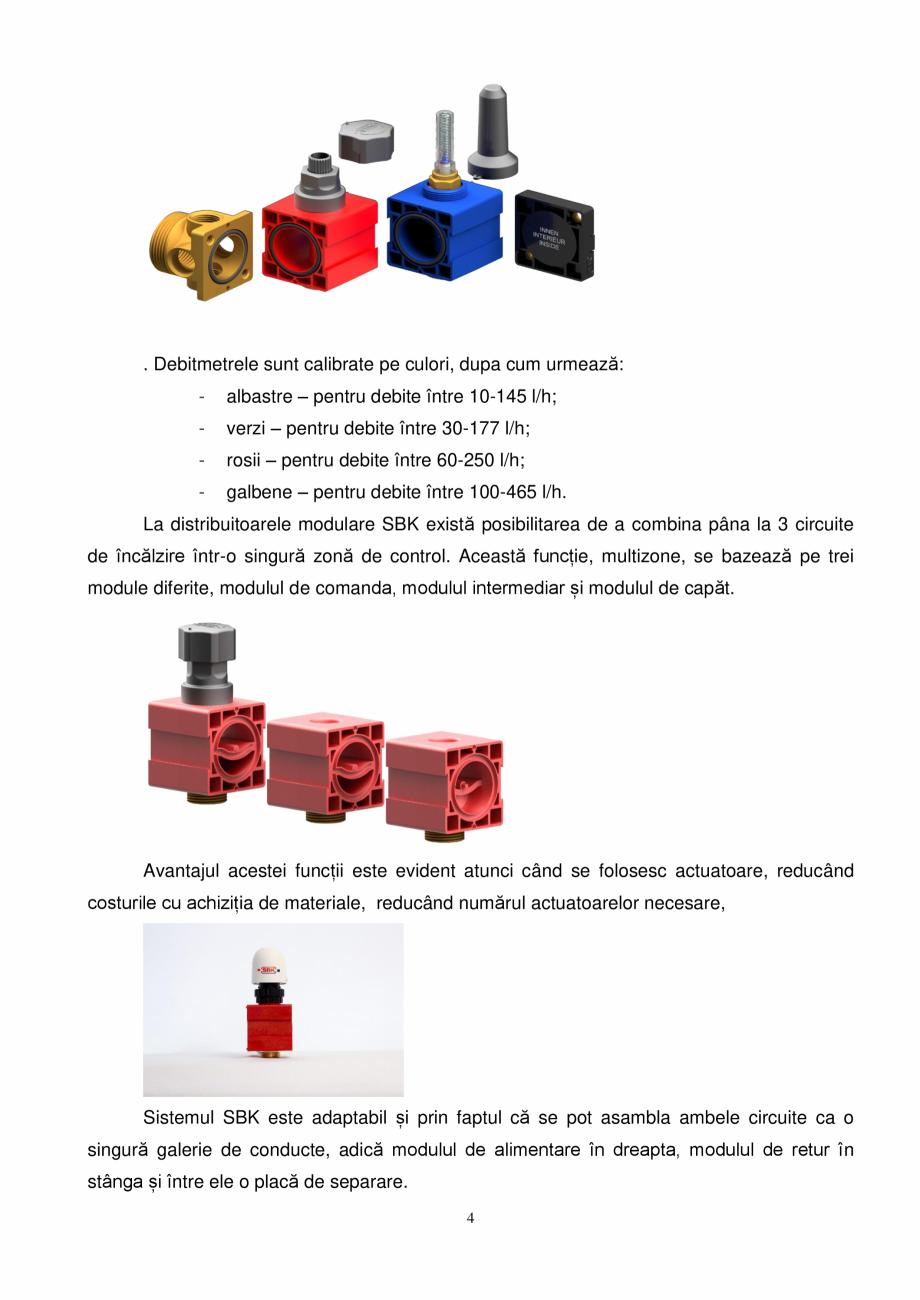 Pagina 4 - Prezentare distribuitoare modulare pentru incalzirea in pardoseala SBK HKV3000, TWINCO...