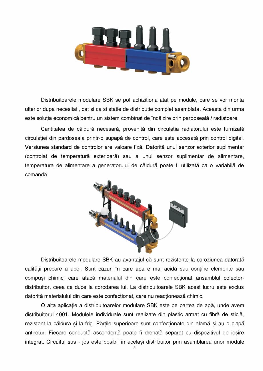 Pagina 5 - Prezentare distribuitoare modulare pentru incalzirea in pardoseala SBK HKV3000, TWINCO...