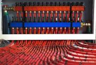 Distribuitoare modulare pentru incalzirea in pardoseala