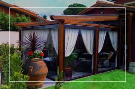 Inchideri de terase cu folie transparenta, rulouri sau rulouri casetate WEST PLAST DISTRIBUTION