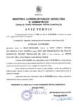 Aviz Tehnic nr 001SC-05 022-2020 pentru tevi din polietilena de inalta densitate pentru instalatii de apa
