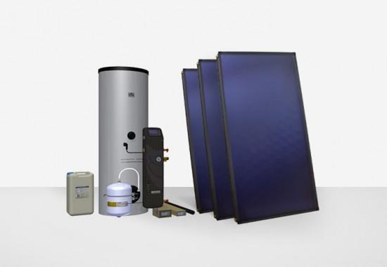 Sisteme solare complete pentru apa calda menajera ITECHSOL