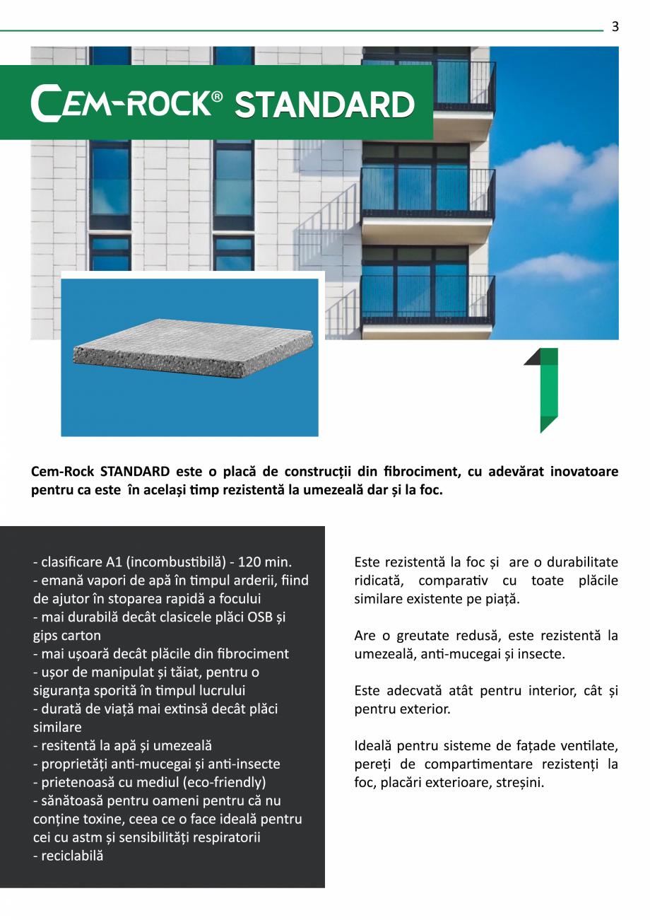 Pagina 5 - Catalog de prezentare Cem-Rock CEM-ROCK CemRock Extreme, Cemrock Lite, CemRock standard...