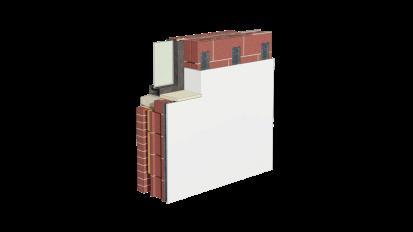 Cemrock Lite - Placare interioara perete caramida cu placi fibrociment  Cemrock Lite Placi din fibrociment