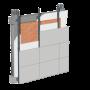 Cemrock Extreme - Fatada ventilata - placi fibrociment finisate cu tencuiala pe baza de pluta pretaiate