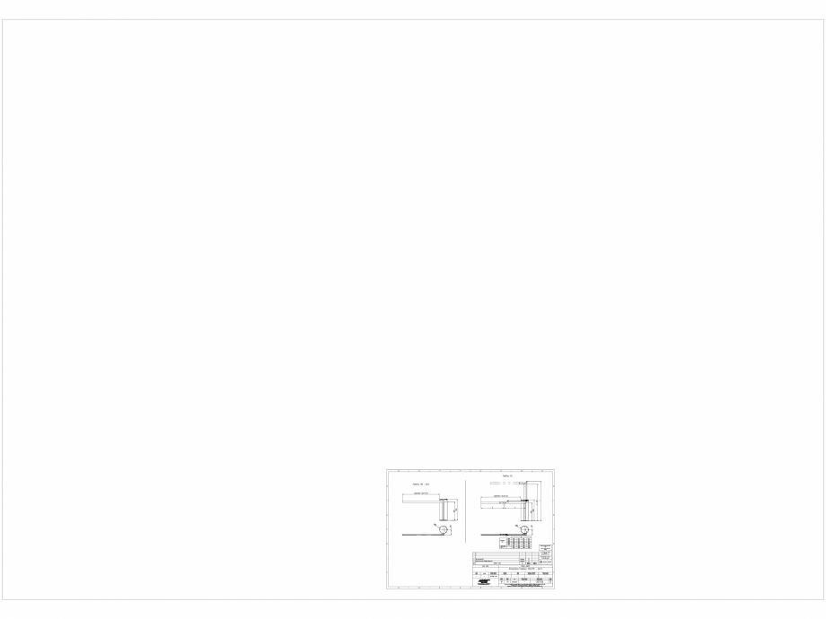 Pagina 1 - CAD-DWG Detalii bariera BL 15 CH-CAO-DE-0 Automatic Systems Detaliu de produs