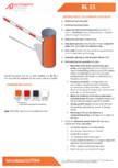 Specificatii tehnice - Bariera Automatic Systems pentru control acces perimetru Automatic Systems - BL 15