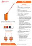 Specificatii tehnice - Bariera Automatic Systems pentru parcare Automatic Systems - BL 44
